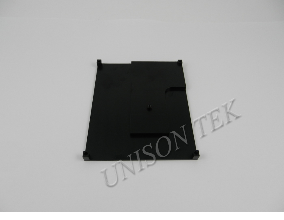 Aluminum Milled Part With Black Anodize