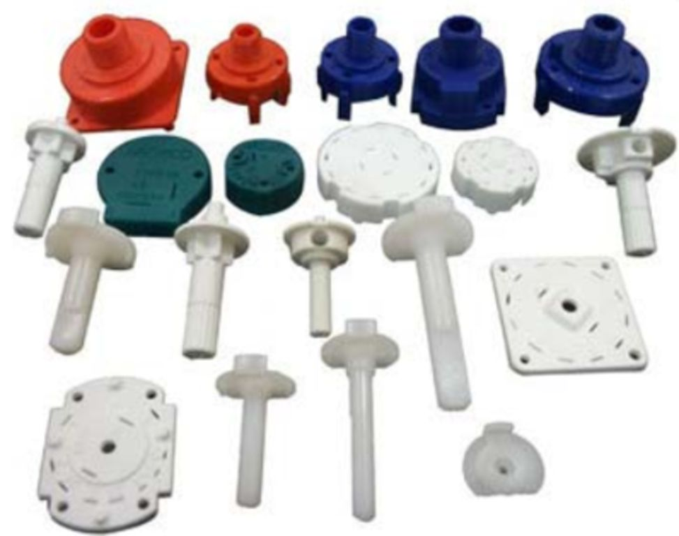 plastic flange and components